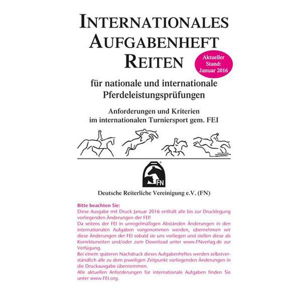 FNverlag Internationales Aufgabenheft Reiten