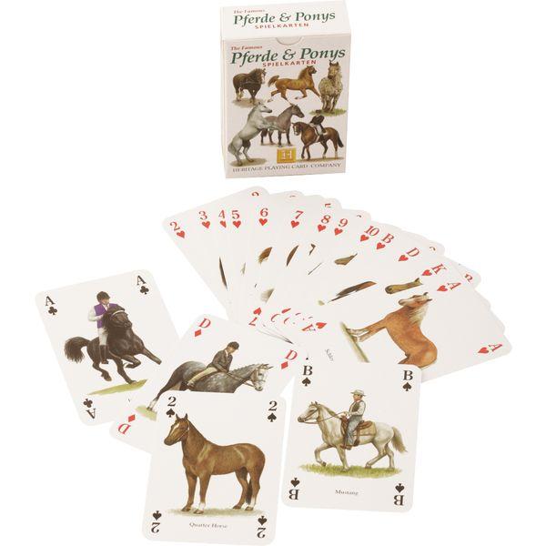 Spielkarten Pferde & Ponys