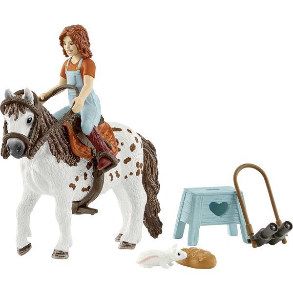 Schleich Horse Club Kleine Schwester und Pony