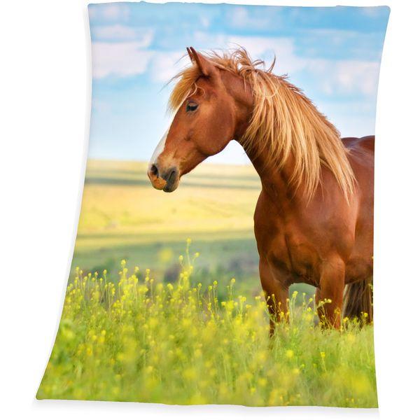 HERDING Fleecedecke Pferd