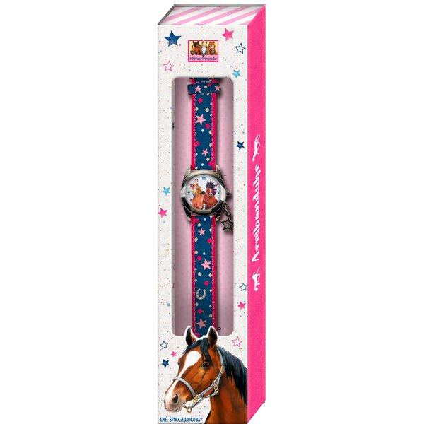 DIE SPIEGELBURG Armbanduhr Pferdefreunde