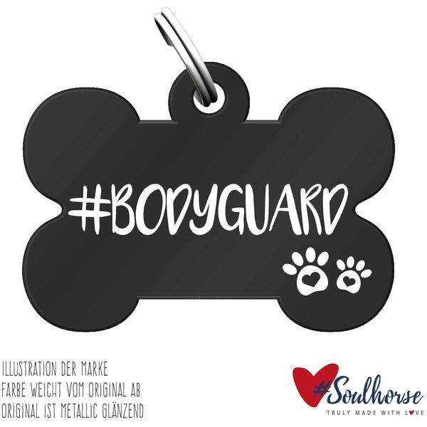 #Soulhorse Anhänger Hund schwarz | Bodyguard