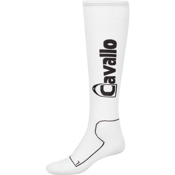 Cavallo Funktions-Reitsocken offwhite/graphite   34/35