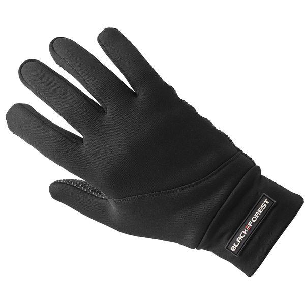 black forest Fleece-Handschuhe Powergrip schwarz | XXL
