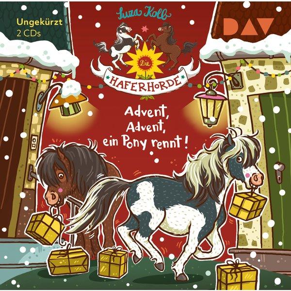 Advent, Advent, ein Pony rennt!