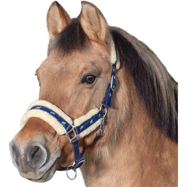 Horse-friends Webhalfter Vigo mit Kunstfell