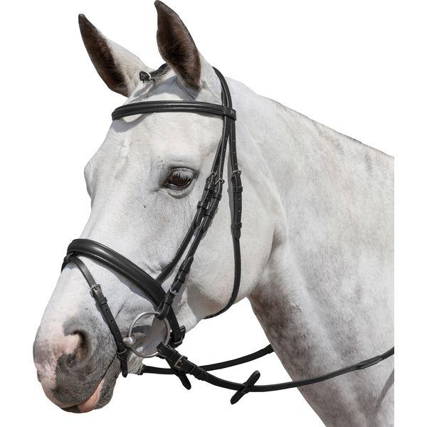 DÖBERT Trensenzaum Stallmeister schwarz | Pony