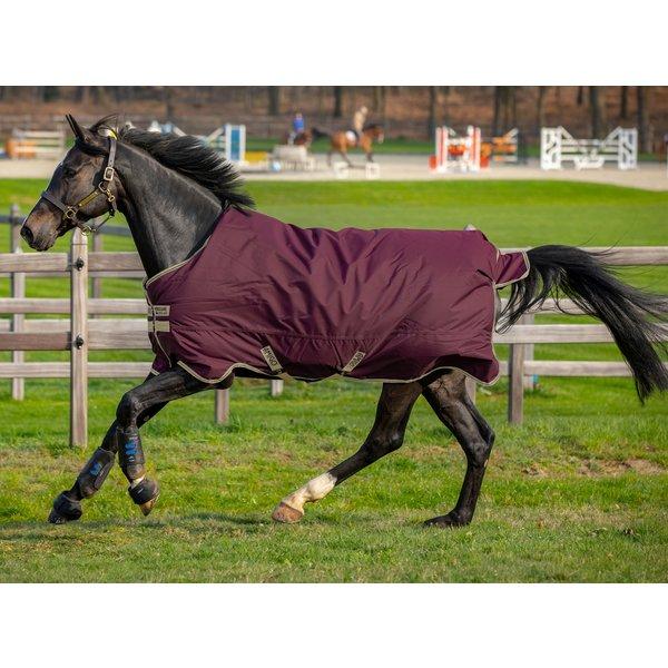 Horseware Outdoordecke AMIGO Hero Ripstop 100 g feige/navy & tan | 130 cm