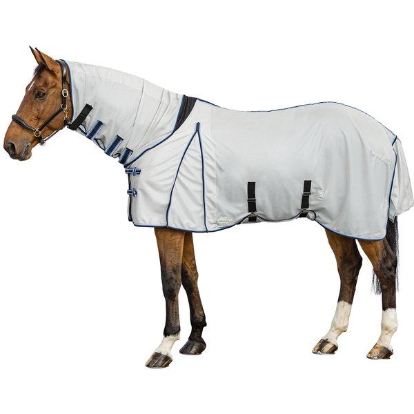 Horse-friends Fliegendecke mit elastischem Einsatz