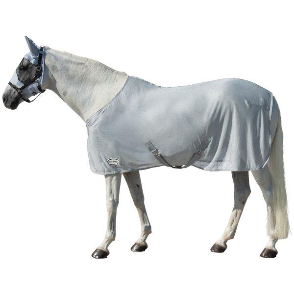 Horse-friends Fliegendecke aus glänzendem Mesh