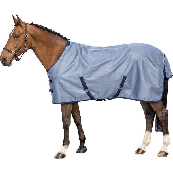 Horse-friends Abschwitzdecke mit Bissschutz denim blue   115 cm
