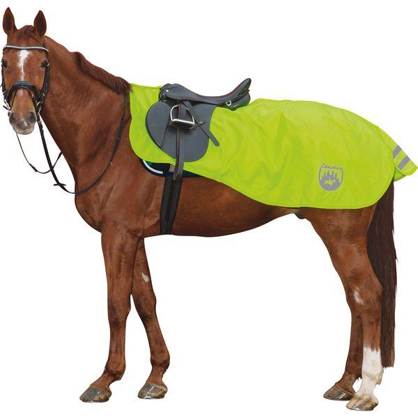 Horse-friends Reflex-Ausreitdecke mit Fleecefutter