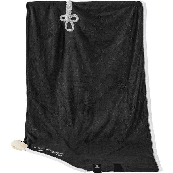 ESKADRON Platinum Pure Abschwitzdecke Fleece Stamped black   135 cm