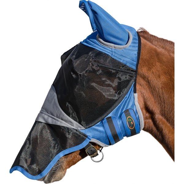 IRISh INNOVATION Fliegenmaske Deluxe ll, mit Ohren- und Nasenschutz