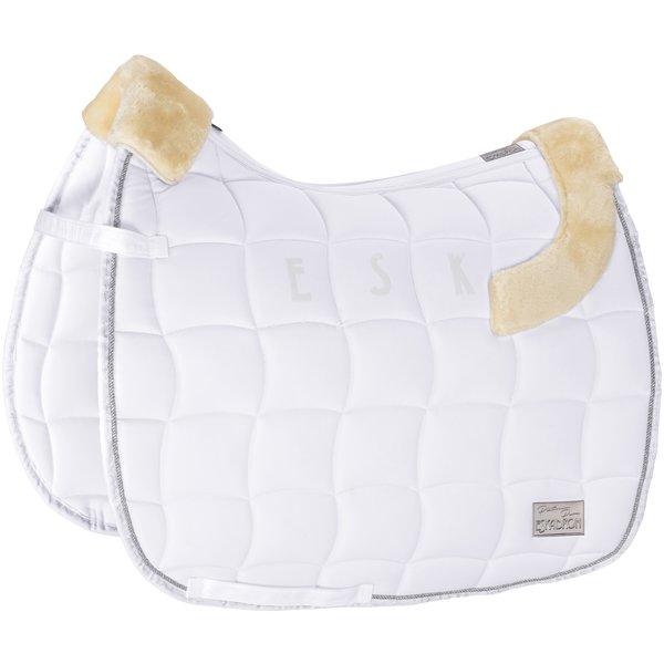 ESKADRON Platinum Pure Schabracke Inno-Pad white   Warmblut/Vielseitigkeit