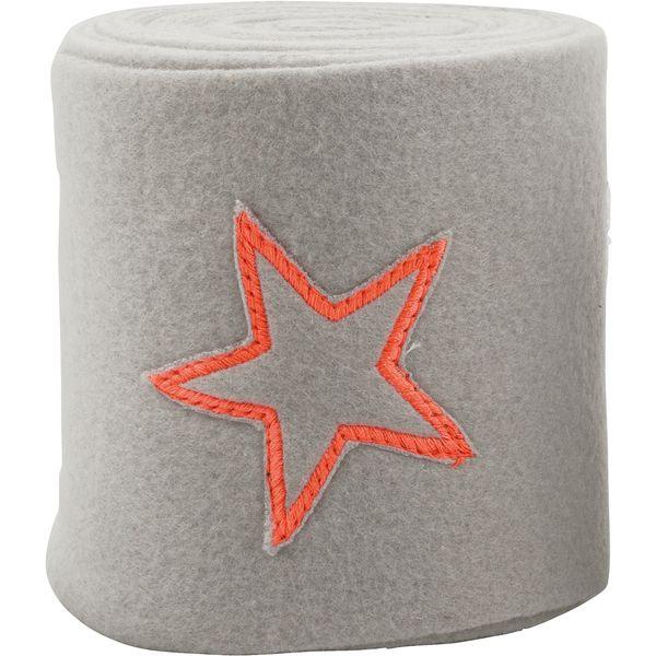 Fleecebandagen Neon Star