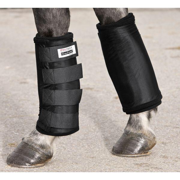 PROTECT by Horse-Friends Wärme- und Kühlbandage schwarz | WB