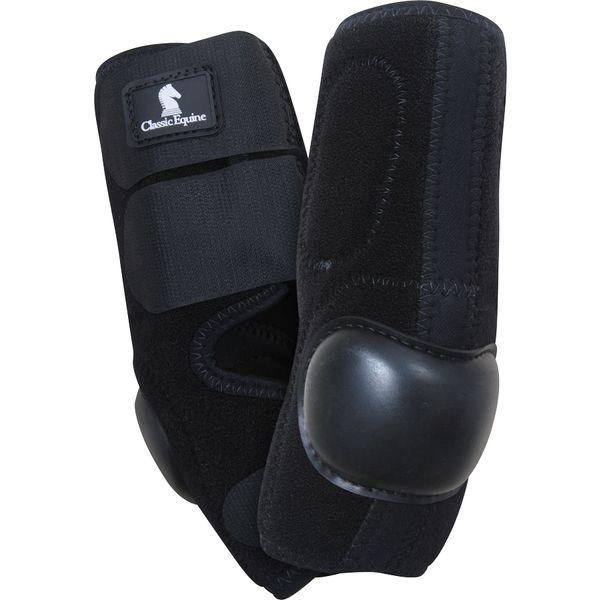 Classic Equine Skid-Boots schwarz