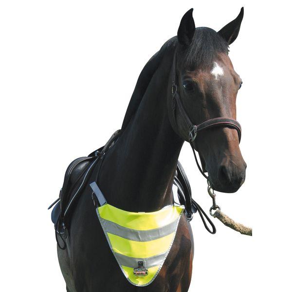 Loesdau Brustreflektor mit Blinklicht gelb/grau