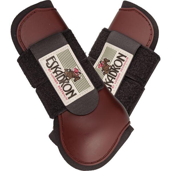 ESKADRON Springgamaschen Protection-Boot, vorne bordeaux   PONY