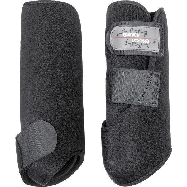 ESKADRON Dressur-Gamaschen Pro Dressage, vorne schwarz | PONY