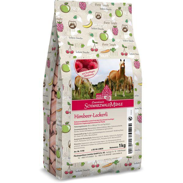 SchwarzwaldMühle Himbeer-Leckerli 1 kg