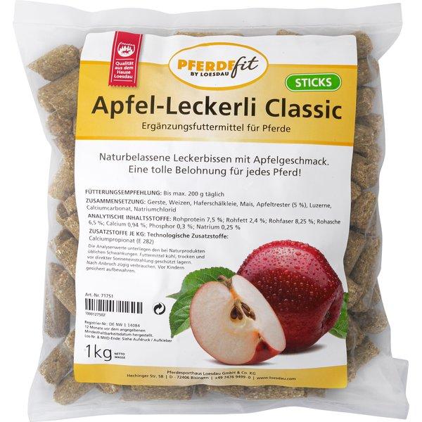 PFERDEfit by Loesdau Apfel-Leckerli Classic 1 kg