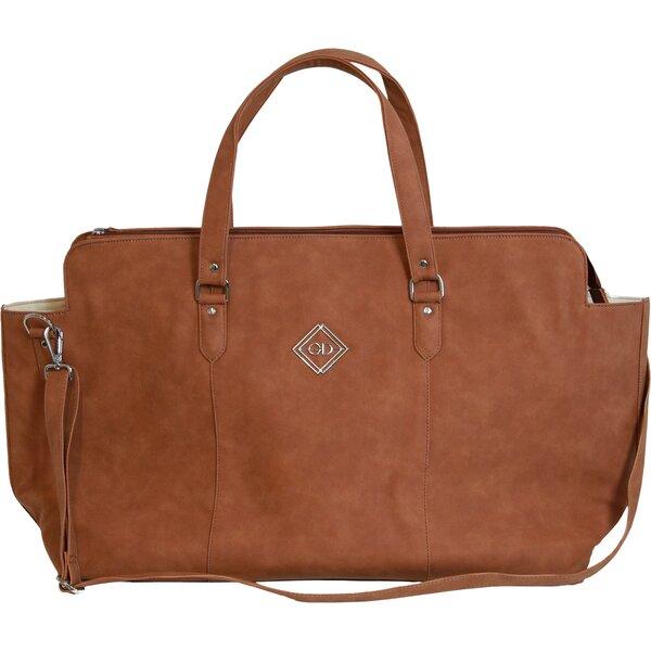 GROOMING DELUXE Tasche Chestnut Travel brown | L