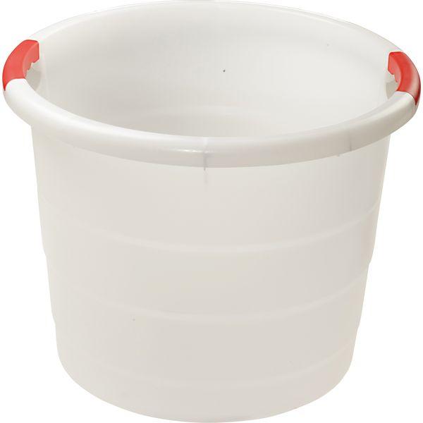 Futtereimer Toni weiß | 30 Liter