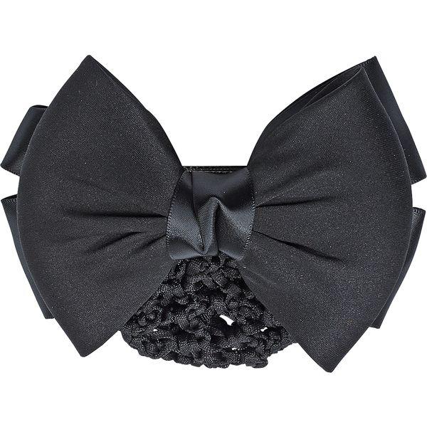 BUSSE Haarnetz mit Schleife schwarz