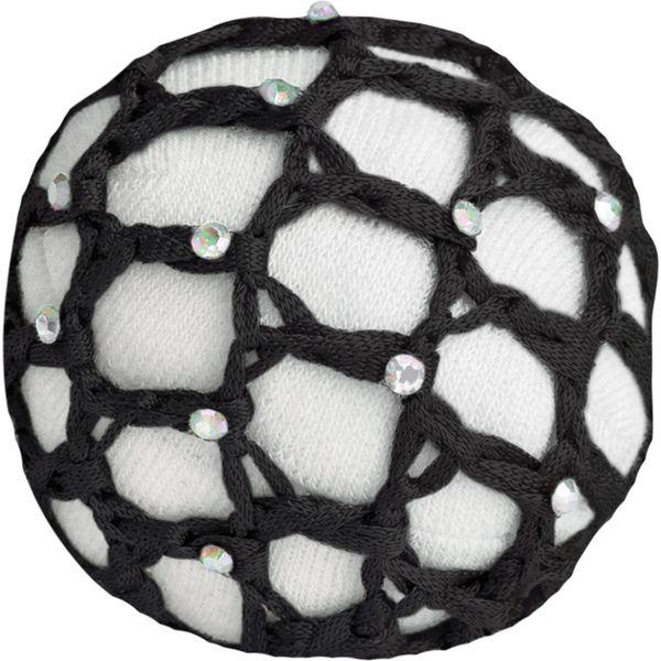 WALDHAUSEN Haarnetz mit Glitzersteinen