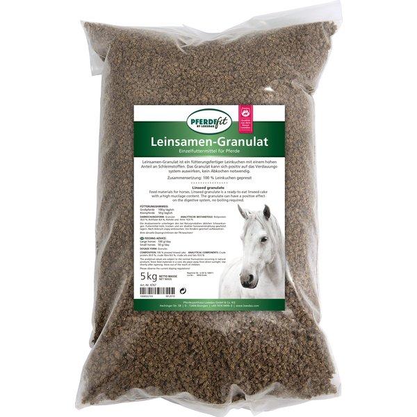 PFERDEfit by Loesdau Leinsamen-Granulat 5 kg