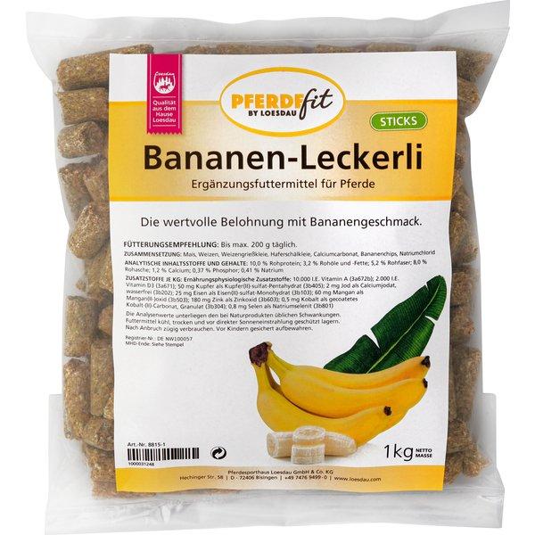PFERDEfit by Loesdau Bananen-Leckerli Sticks