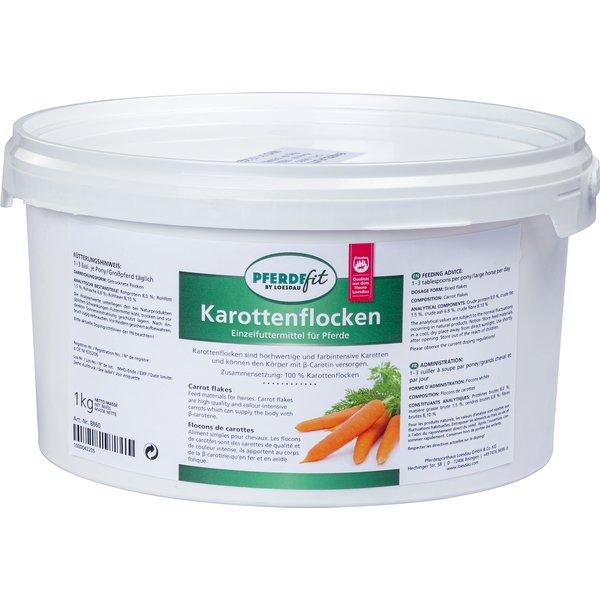 PFERDEfit by Loesdau Karottenflocken 1 kg