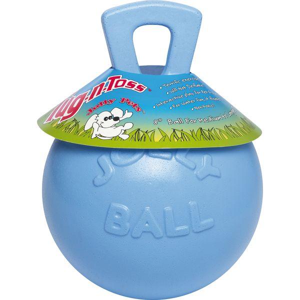 Spielball Jolly Ball für Hunde hellblau