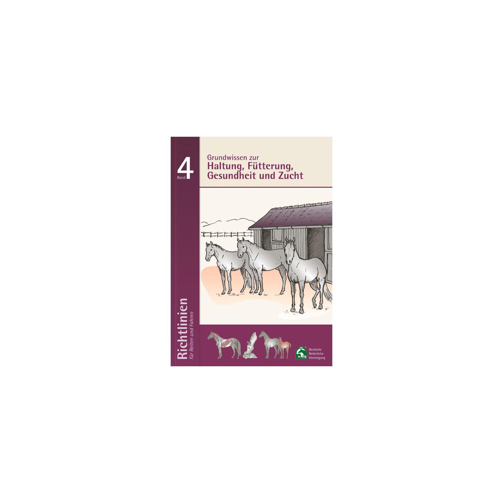 Richtlinien für Reiten und Fahren, Band 4