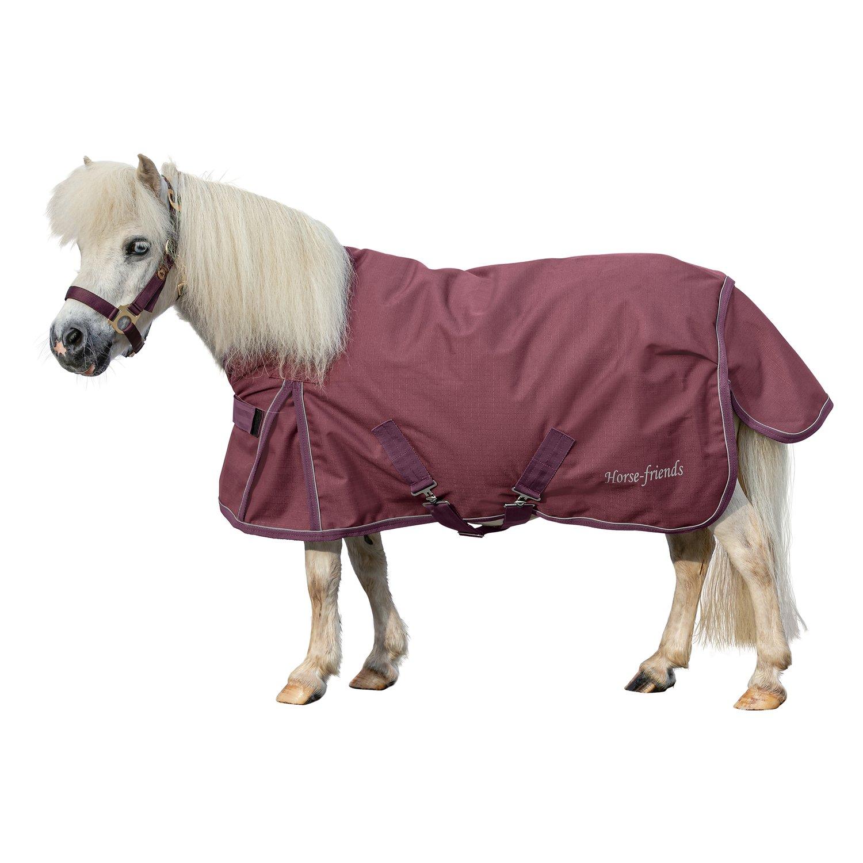 Horse-friends Outdoordecke Piccolio 150g, für Shetty und Mini-Shetty