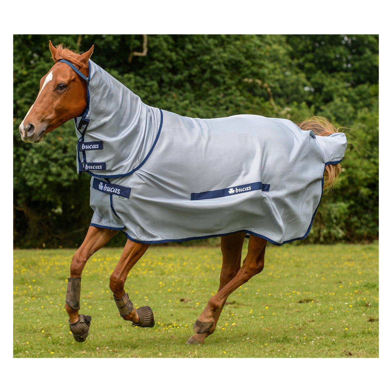 Pony Decken: Bucas Fliegen- Und Ekzemerdecke Buzz-off Full Neck