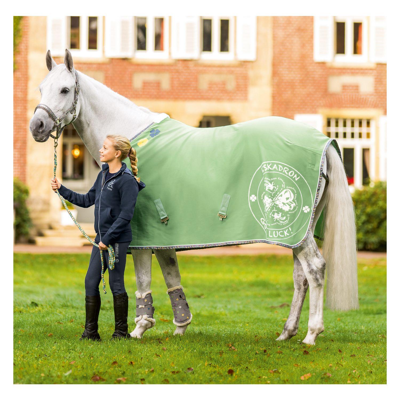 Pony Decken: ESKADRON NICI Abschwitzdecke Jersey