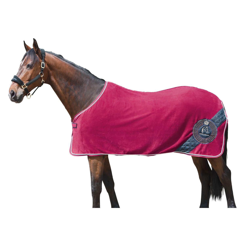 Pony Decken: Cheval De Luxe Fleece- Und Abschwitzdecke Royal
