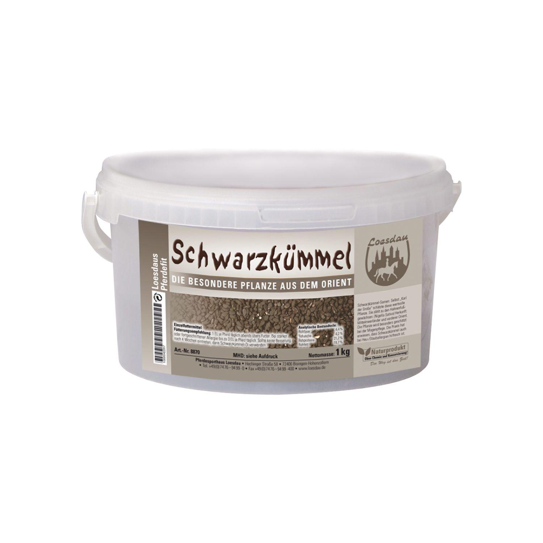 Loesdaus Pferdefit Schwarzkümmel-Samen 1 kg