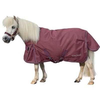 Horse-friends Outdoordecke Piccolio 150g, für Shetty und Mini-Shetty purple grape | XL