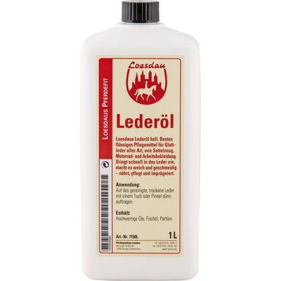 Loesdau Tran-Öl, Lederöl