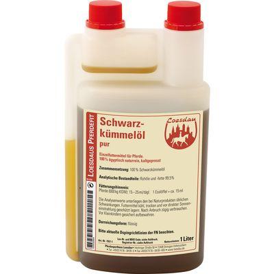 Loesdaus Pferdefit Schwarzkümmel-Öl pur