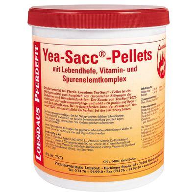 Loesdaus Pferdefit Yea-Sacc-Pellets