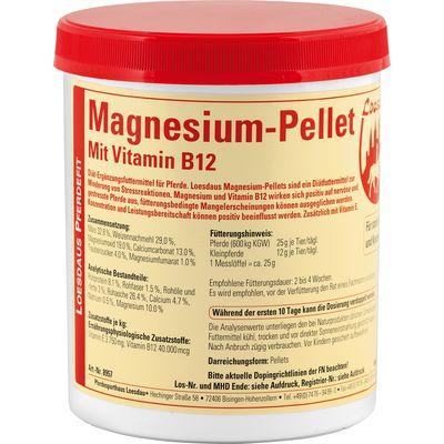Loesdaus Pferdefit Magnesium-Pellets